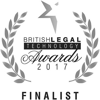BritishLEGAL Awards Finalist